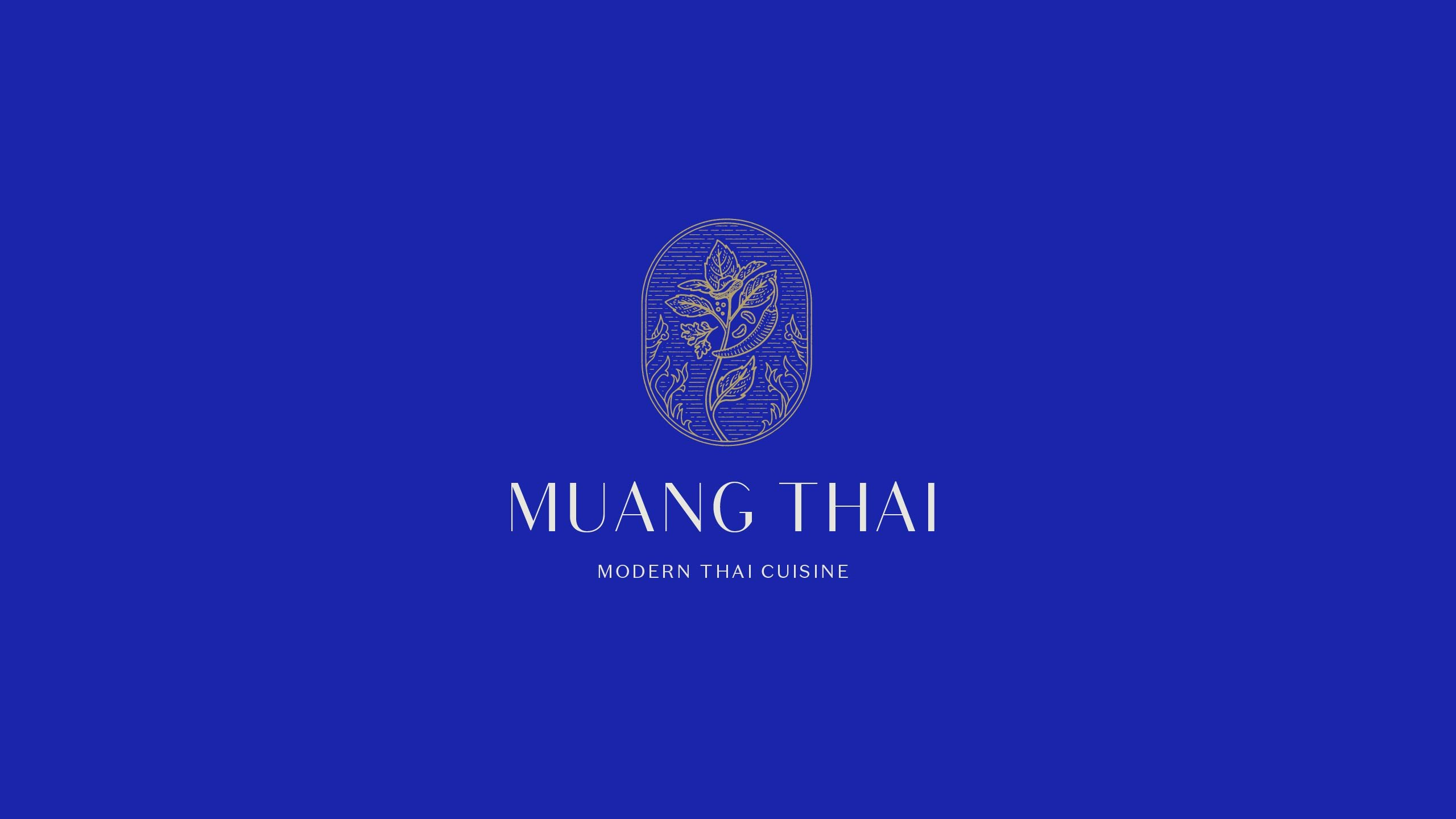 Spice-inspired logo for Thai restaurant Muang Thai